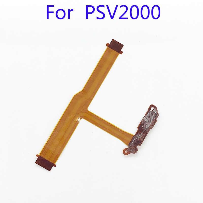 Lr الكتف زر الشريط + الطاقة On Off التبديل الكابلات المرنة ل PS فيتا ايندهوفن 2000