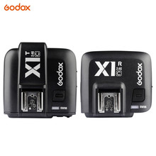 Godox X1T-C 2.4G Wireless Flash Transmitter + X1R-C TTL Receiver for Canon 1000D 600D 700D 650D 100D 550D 500D 450D 400D 7D 70D meike mk 430 mk430 ttl flash speedlite for all for canon cameras 430ex ii eos 5d iii 6d 60d 450d 500d 550d 600d 650d 700d
