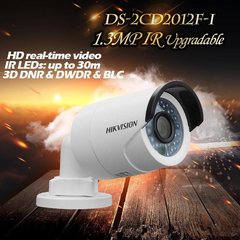 Hikvision English Version DS-2CD2012F-I 1.3MP IR Bullet Network Camera IP66 HD cd диск fleetwood mac rumours 2 cd