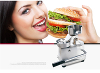ITOP 100mm 130mm Manual Hamburger Press Burger Forming Machine Round Meat Pie Shapping Machine