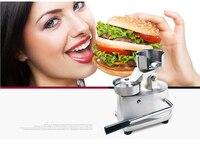 ITOP 100mm 130mm Manual Hamburger Press Burger Forming Machine Round Meat Pie Shapping Machine