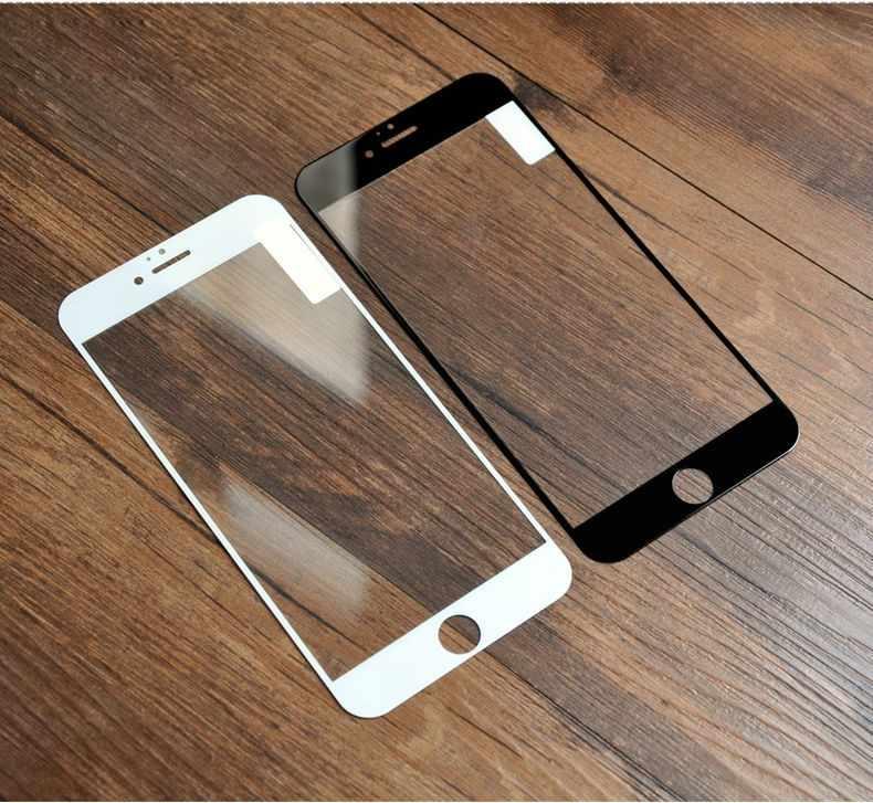 آيفون 7 6S ثلاثية الأبعاد منحني حافة غطاء كامل الزجاج المقسى واقي للشاشة فيلم آيفون 4 4s 5 5s 6 الزجاج على آيفون 6 7plus