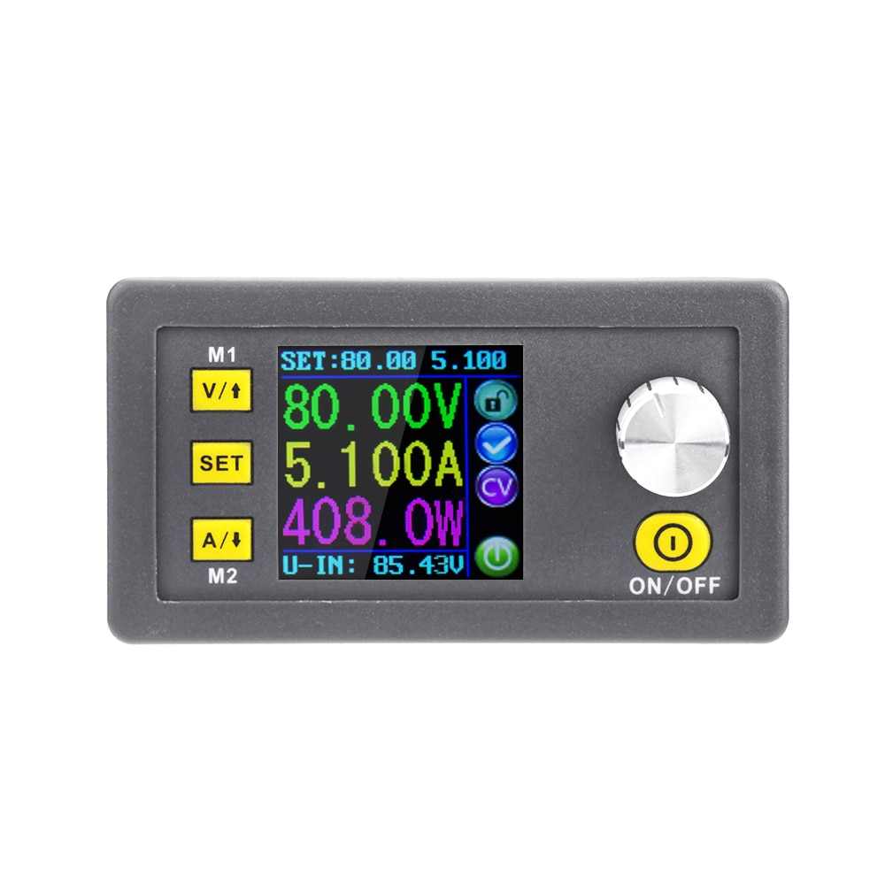 LCD Digital Programmable Constant Voltage Current Step-down Power Supply Module Voltmeter Ammeter Buck Converter DPS8005-USB-BTLCD Digital Programmable Constant Voltage Current Step-down Power Supply Module Voltmeter Ammeter Buck Converter DPS8005-USB-BT