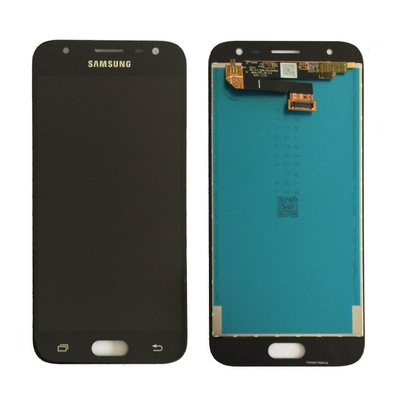 100% ORIGINAL Super AMOLED LCDS Für Samsung Galaxy J3 2017 J330 LCD Display Touchscreen Digitizer Montage kostenloser versand