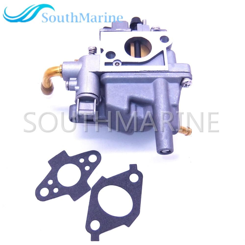 Boat Engine 69M 14301 10 Carburetor Assy and 69M E3645 A0 69M E3646 A0 Gaskets for