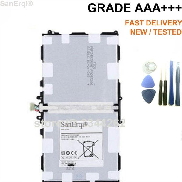 10 шт./лот <font><b>T8220E</b></font> для <font><b>Samsung</b></font> Galaxy Note 10.1 2014 издание P601 P600 <font><b>T8220E</b></font> Планшеты Батарея 8220 мАч