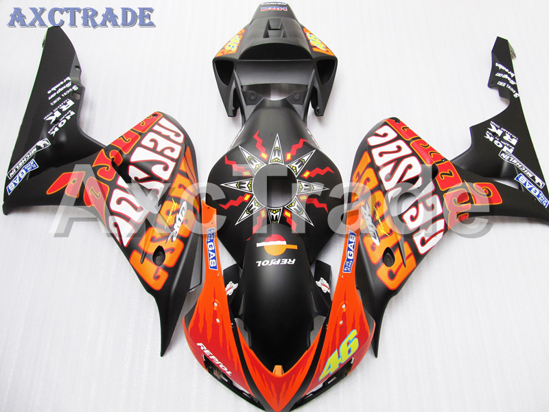 Motorcycle Fairings For Honda CBR1000RR CBR1000 CBR 1000 2006 2007 06 07 ABS Plastic Injection Fairing Bodywork Kit MA BK motorcycle fairings for honda cbr1000rr cbr1000 cbr 1000 rr 2006 2007 06 07 abs plastic injection fairing bodywork kit white