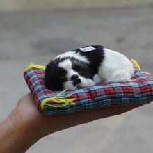 Newly handmade animal sleeping dog