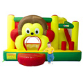 YARD Monkey Bounce House Slide Combo with Blower Basketball  Hoop Kids Jumping Park Special Offer for Hot Zone