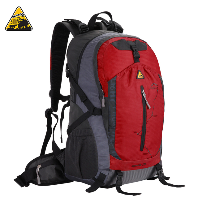 d453a58324 KIMLEE 35L Waterproof Lighten Burden Breathable Mountaineering Backpack  Sports Leisure Travelling Bag Water Repellent Material