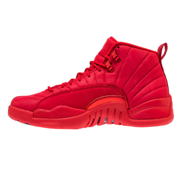 buy popular dcc7a f2822 High Quality Jordan 12 men basketball shoes Gym Red Basketball Shoes  Playoff white Blue Flu Game outdoor Sport Shoes