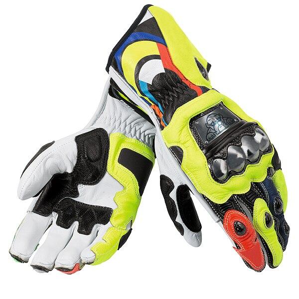 Dain Gloves Motorbike Racing MOTO GP Street Motorcycle Leather Gloves цена