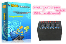 8 SIMs Bulk SMS Server Q2403 with Free enterprise version SMS Software