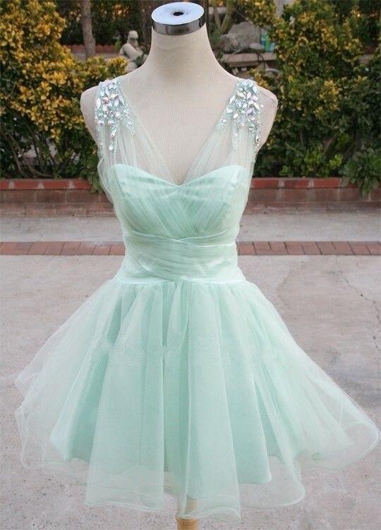 High Quality Short Green Prom Dress-Buy Cheap Short Green Prom ...