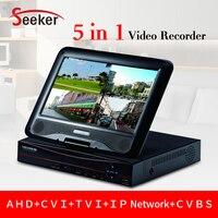 New HD 4ch CCTV AHD 5 In 1 XVR DVR 1080P AHD CVI TVI CVBS IP