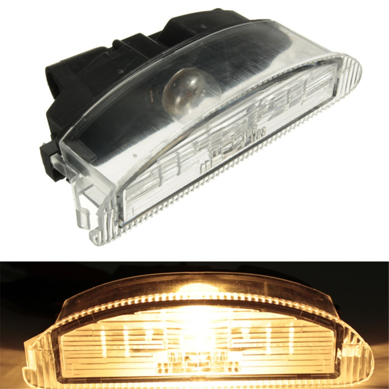 Rear Back Number License Plate Lamp Light Bulb For Renault Clio II 2 1998-2005 Thalia Twingo