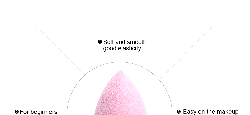 Cocute Makeup Foundation Sponge Makeup Tools 8
