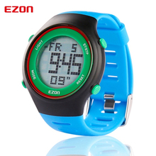 Niohuru Fashion Men Sports Watches Blue Multifunctional Outdoor Waterproof Digital Watch Alarm Stopwatch L008B12