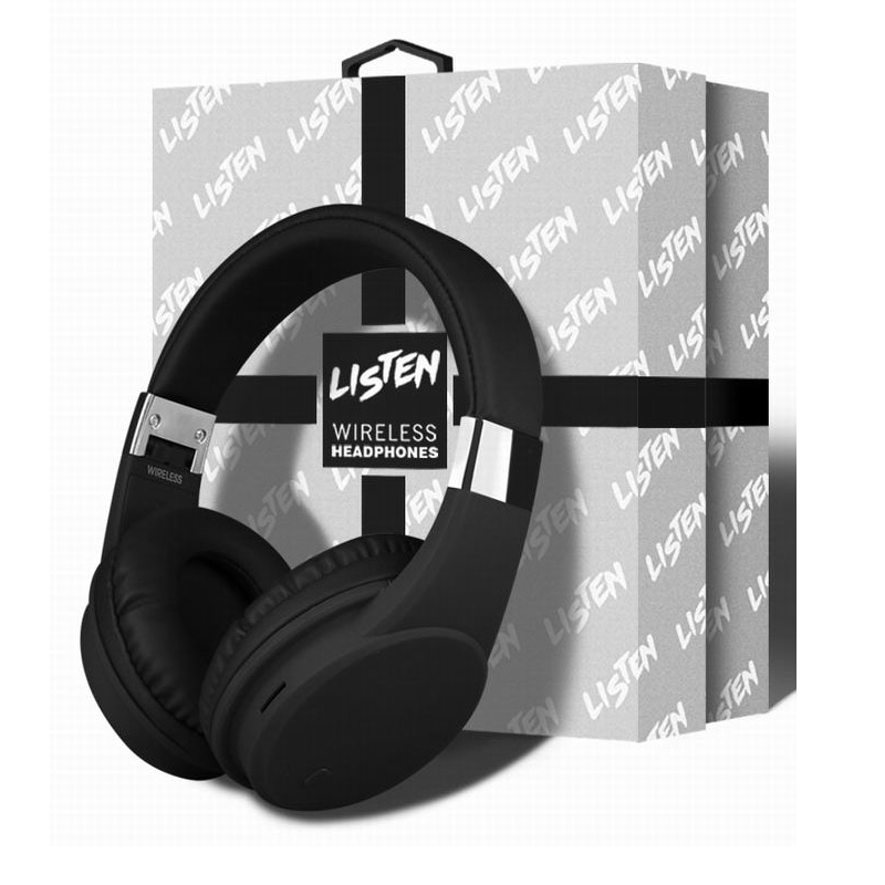El nuevo auricular inalámbrico Bluetooth caja de regalo con ultra-clara ruido para cancelar los auriculares estéreo de juegos de todos smartphone com