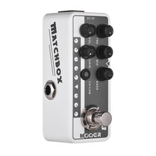 Mooer MICRO PREAMP Series 013 MATCHBOX American Style Digital Preamp Preamplifier Guitar Effect Pedal Dual Channels 3-Band EQ(China)