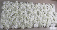 Free Shipping 10pcs Lot 3D Artificial Rose Peony Hydrangea Flower Wall Wedding Backdrop Arch Table Flower
