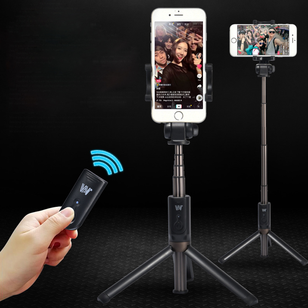 3 in 1 Bluetooth Remote Selfie Stick Tripod w/ 360 Degree Rotation Phone Clip Mount Holder FOR iPhone 8 7 Samsung XiaoMi HuaWei