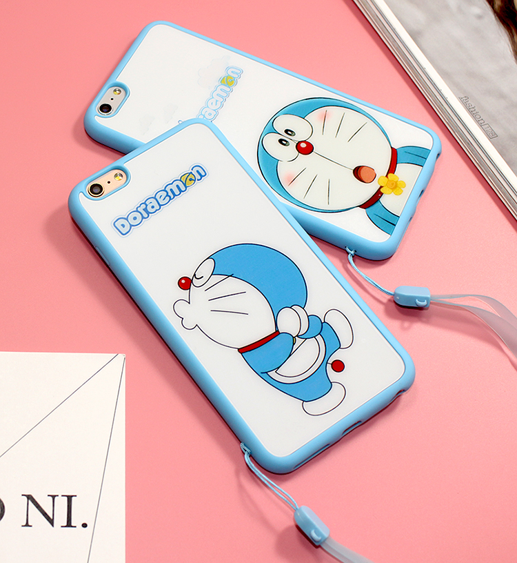 Doraemon Friends JP Cartoon For Apple iPhone 7 Plus  For apple Phone Cover Case For iphone 6 6s i6 i6s plus