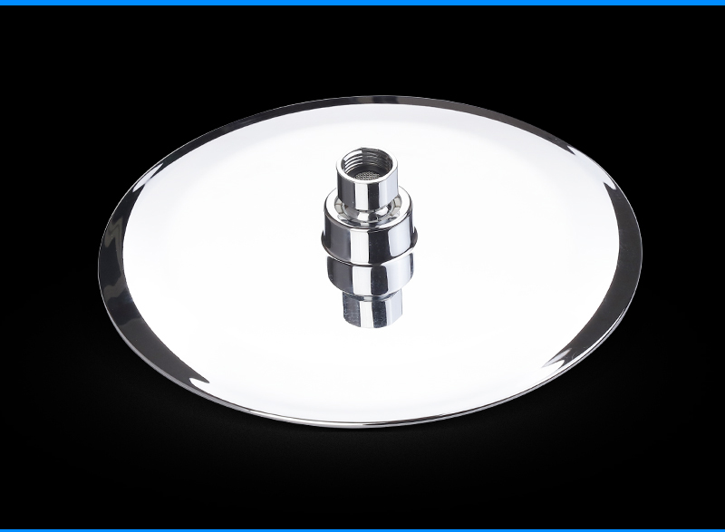 UFO Shower Head Showerhead Body Sprays Shower Head Round 8 Inch Ultra-Thin 2mm Bathroom Rain Shower Heads (13)