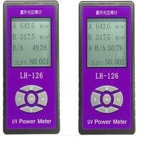 UV Detector Handheld UV Radiation Power Meter UV Light Meter Solar Films Detection Test Volume Instrument