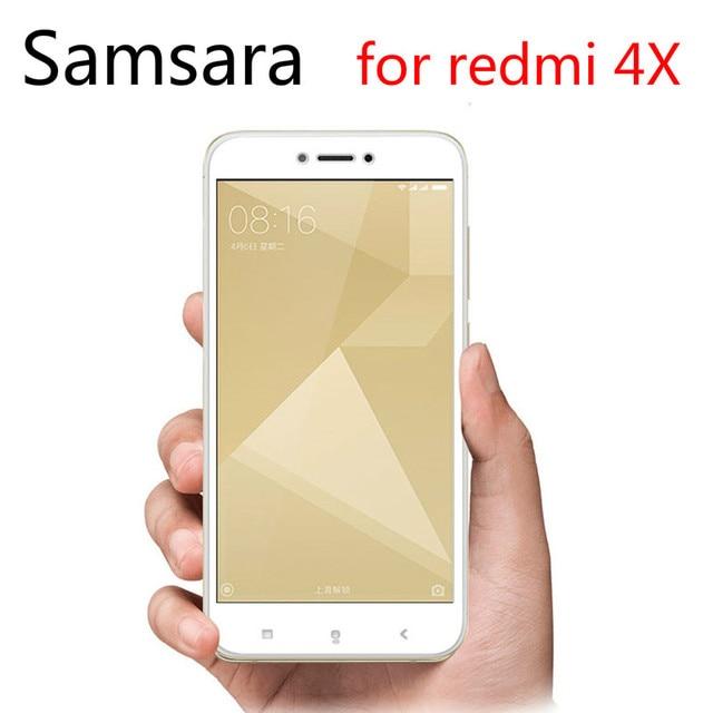 3D изогнутое полное покрытие закаленное стекло для xiaomi redmi 4X пленка стекло на xiaomi redmi4X защитное стекло полное покрытие 9H 3d крышка