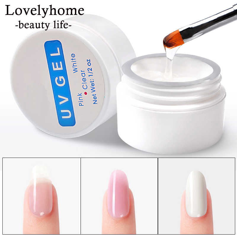 Nail Extension Gel 3 Kleuren Poly Gel Builder Gel Voor Vinger Extension Uv Gel Polish Formulieren Voor Nagel Nail art Varnish