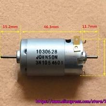 a393a57fce6 Brand Johnson 395 DC motor double output shaft high speed 12V 18V 11700rpm  for robots
