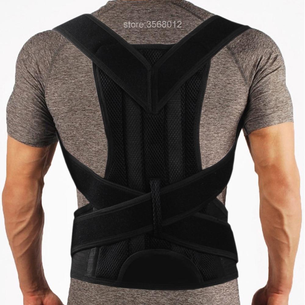 Brace Support Back Neck Shoulder Straightener Belt Corset Upper Back Pain Relief Perfect Posture Corrector Strap Cervical Spine