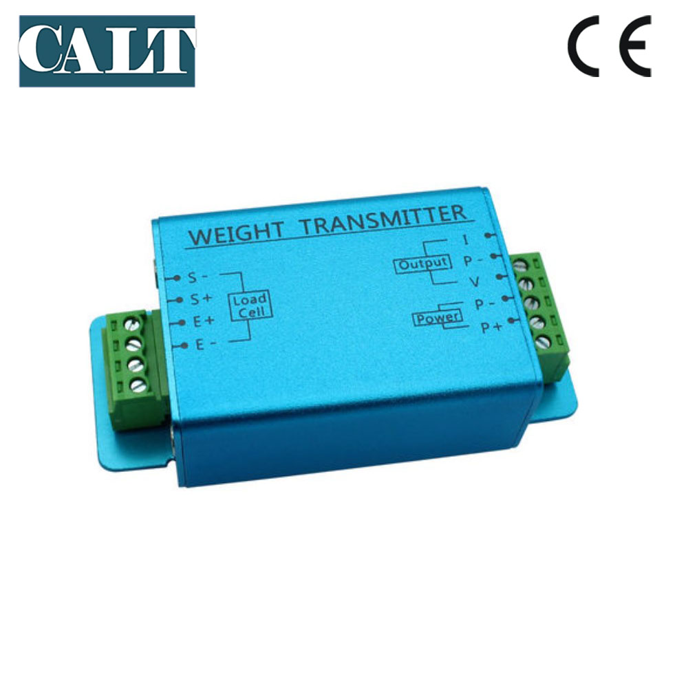 цена на CALT high precision anti-interference weighing transmitter current Voltage load cell force amplifier 4-20mA 0-5V 0-10V