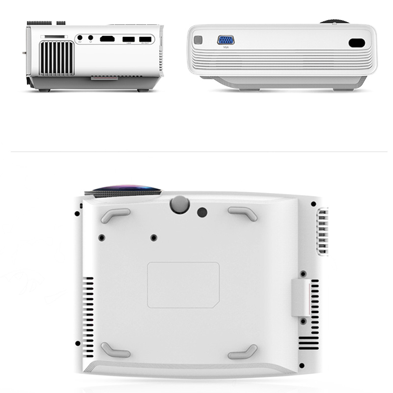YG410 Mini Led Pocket Projector 1080P Draagbare Hd Homehold Projector Home Cinema Usb 3D Beamer Voor 138 Inch Scherm projectie - 2