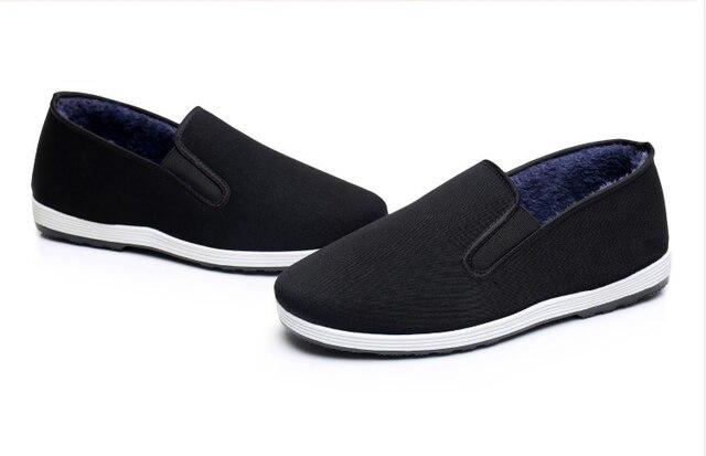 Зимняя обувь ручной работы многослойная подошва TaiChi единоборства обувь Китай Винтаж кунгфу ушу обувь Боевых Искусств Обувь