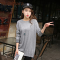 New Cashmere Sweater Women Sweaters and Pullovers Women O-neck Knitted Long sleeve solid Outerwear Pullover XXL Knitted Sweater