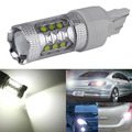 1PC High Power 80W T20 7443 7440 LED Bulbs For Car Reverse Lights Signal Backup DRL Lights DC12V-24V White