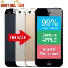 "Original Factory Unlocked Apple iphone 5s LTE Smartphone 4.0"" 1GB RAM 64GB ROM 8MP 1136*640 IOS Multi language Time-Limited Sale"