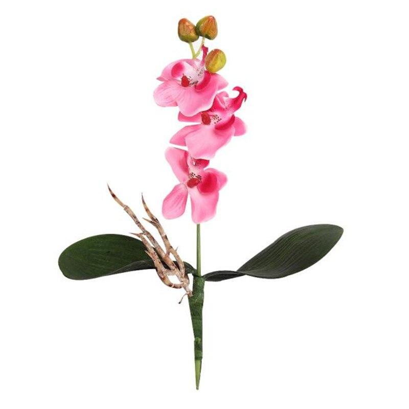 Familie Künstliche Blume Parteien Seide Schmetterlingsorchidee Anzeige
