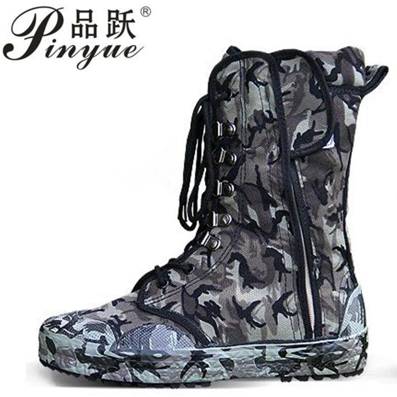 2018 nouveaux hommes bottes Militaires Camouflage bot Jungle Armée Combat bot Hommes Espadrilles asker Chaussures bottes de combat Tactiques