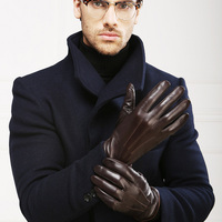 Genuine Leather Gloves Touchscreen 3