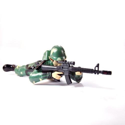 Cool Guns Toys For Boys : Educational toys cool crawling fire gun assault soldiers