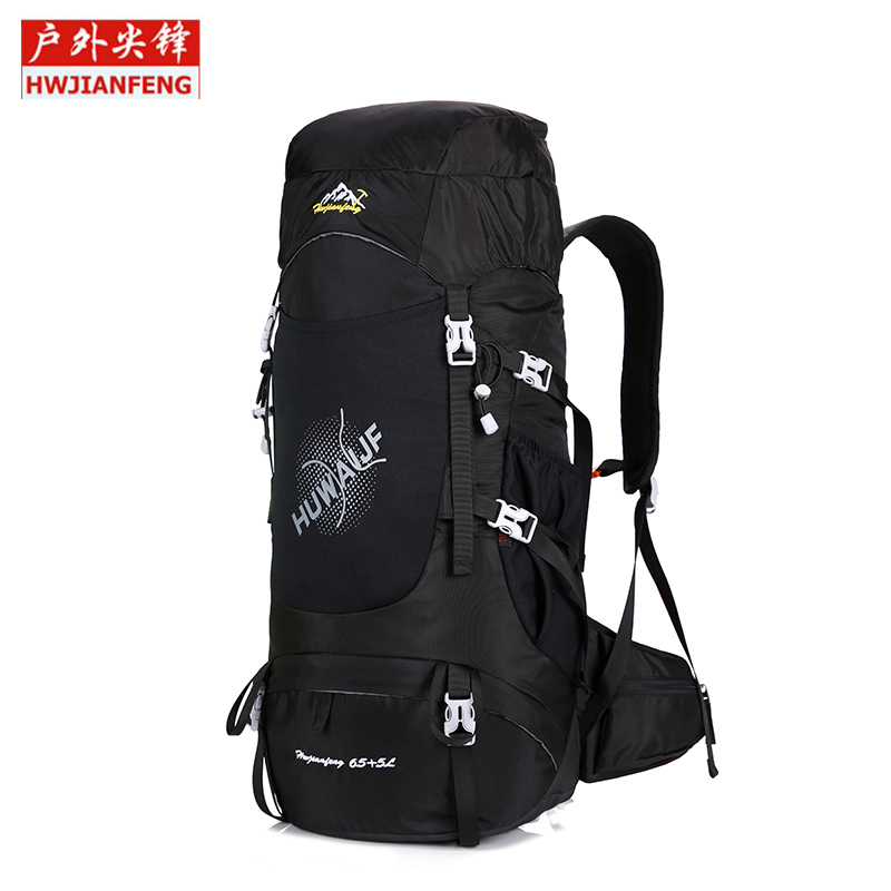 65L Waterproof Climbing Bag Travel Backpack Bike Bicycle Bag Camping Hike Laptop Daypack Rucksack Outdoor Men Women Sport Bag quality innovation bicycle infantry pack 14 6 inch waterproof and scratch resistant outdoor leisure men and women bike backpack