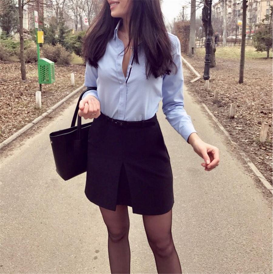 HTB15NrZQpXXXXa4aXXXq6xXFXXXE - Women Tops Blouse Spring Autumn Long-Sleeve Casual