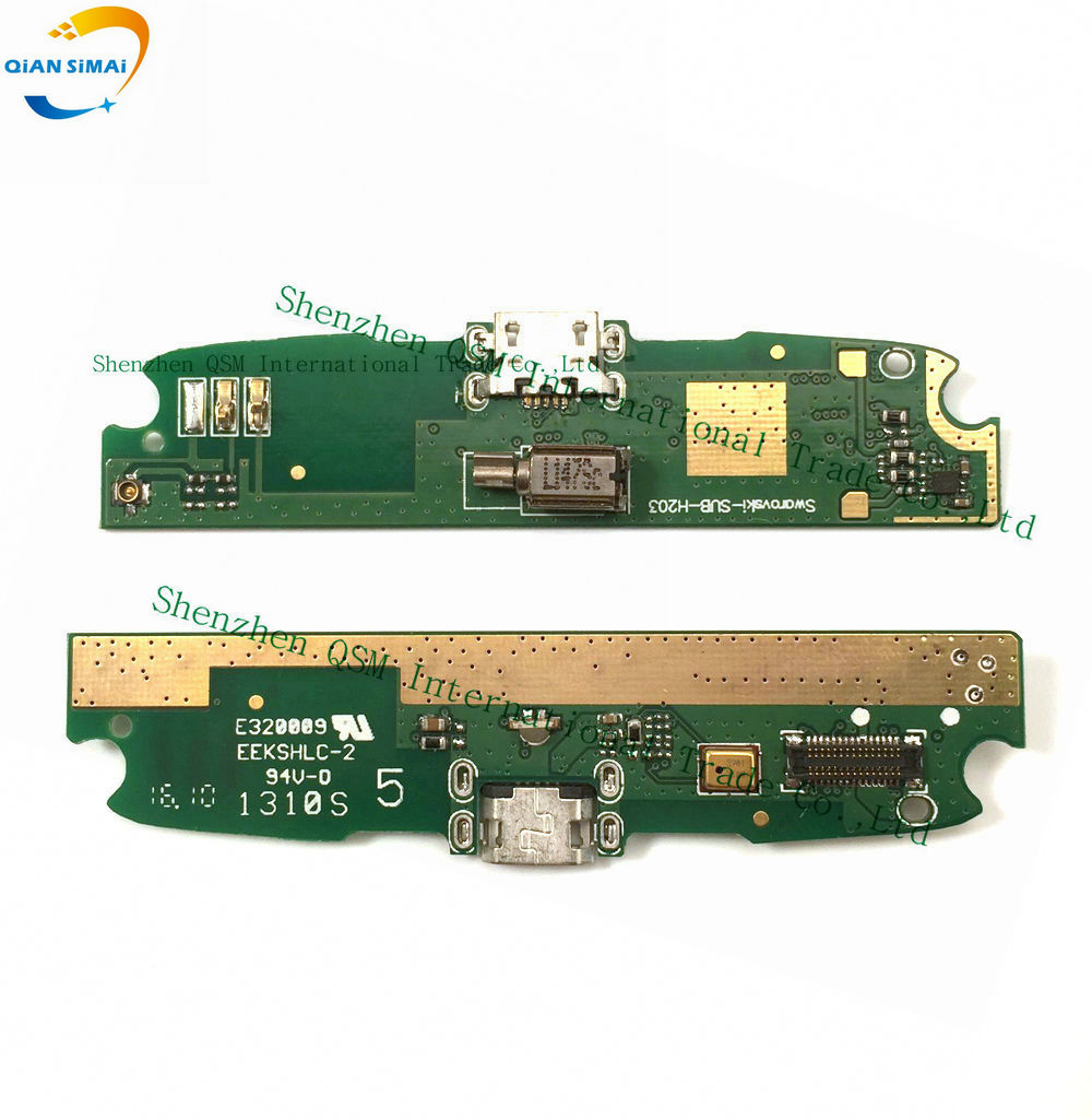 New Original Genuine USB  Charge Board With Flex Cable & Microphone For Lenovo S820 Mobile Phone + DropShipping