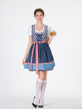 halloween costumes for women Oktoberfest Costume Octoberfest Bavarian Maid costume Party Female Oktoberfest Dress Beer Costume