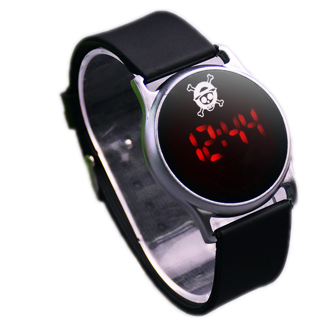 electronic touch screen control men and women s brand luxury font b watch b font animated