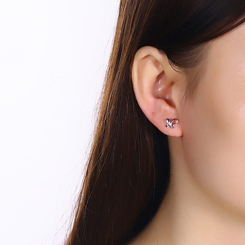 jewelry wholesale Han edition tremella nail earring goods wholesale star earring female a undertakes with the model