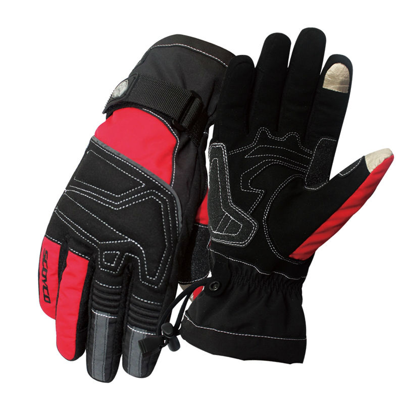 Motorcycle Winter <font><b>Gloves</b></font> Scoyco MC30 Guantes moto Waterproof motocross luvas Sports Warm Screen Touch outdoor ski men Women Res